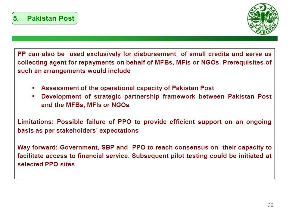5. Pakistan Post