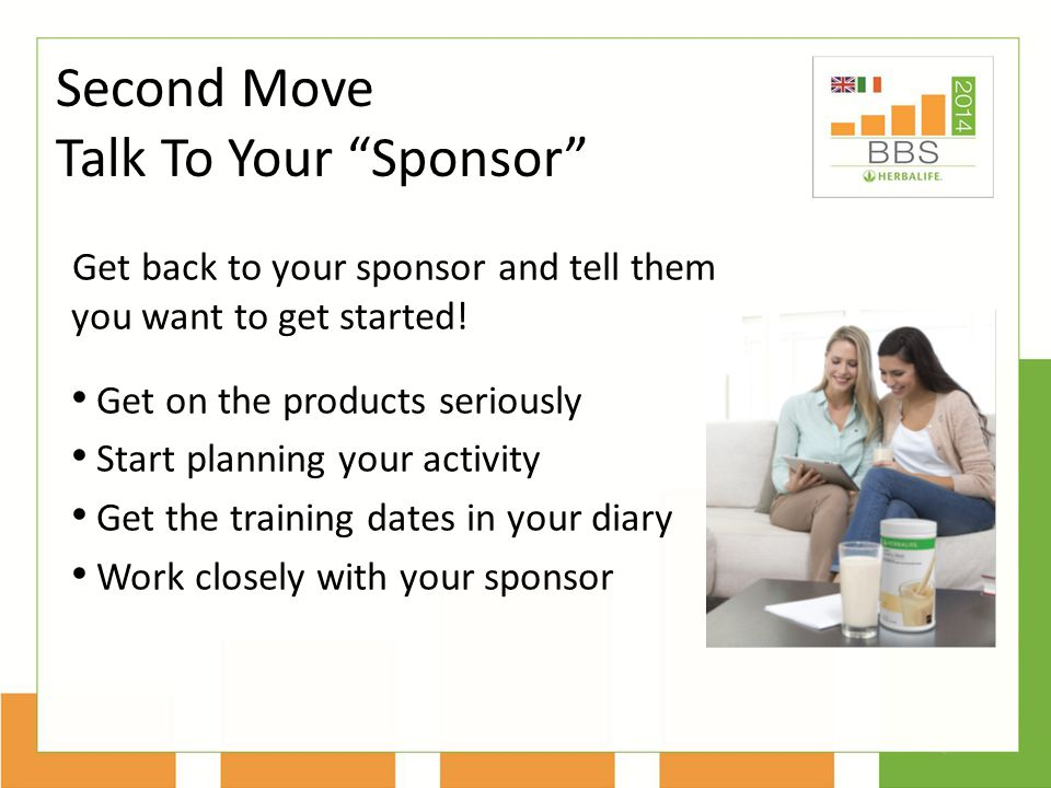 Second Move Talk To Your Sponsor