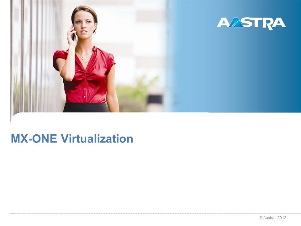 MX-ONE Virtualization