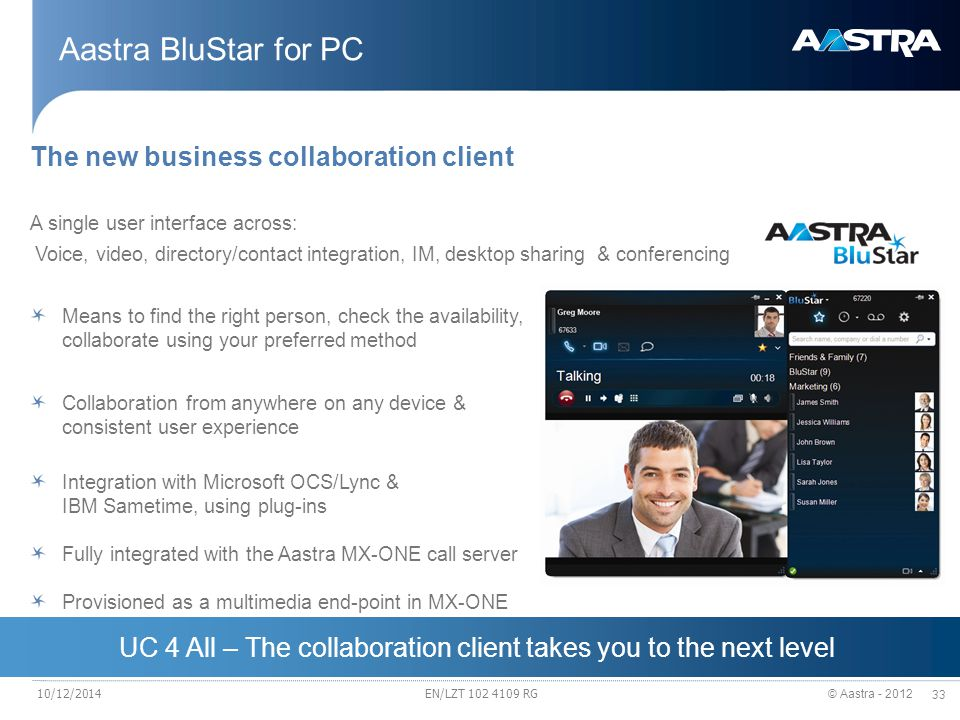 UC 4 All – The collaboration client takes you to the next level