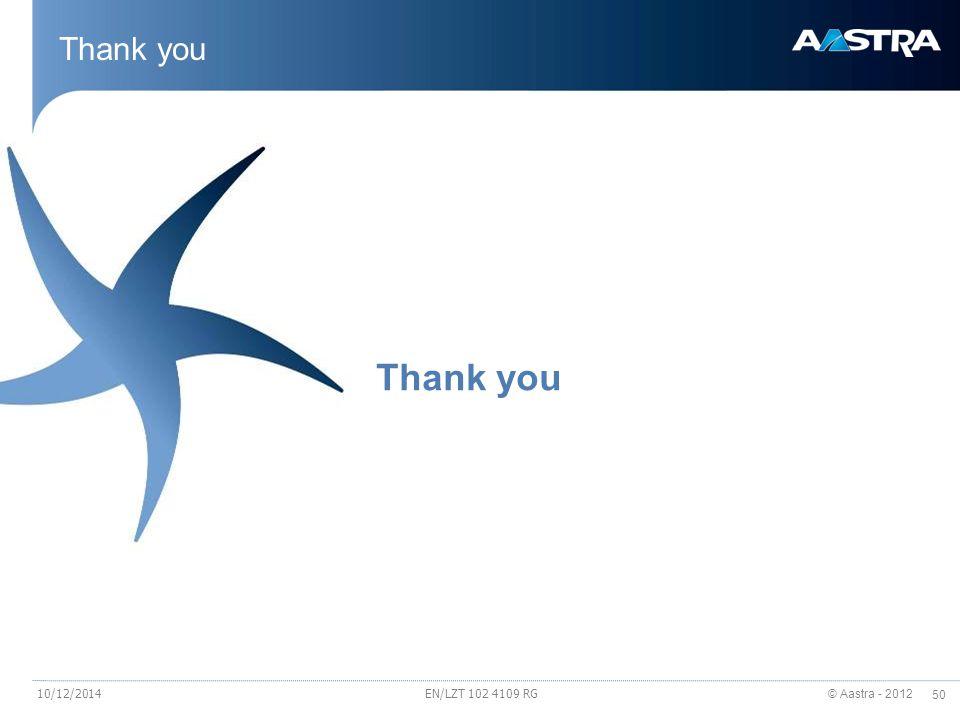 Thank you Thank you 4/6/2017 EN/LZT 102 4109 RG