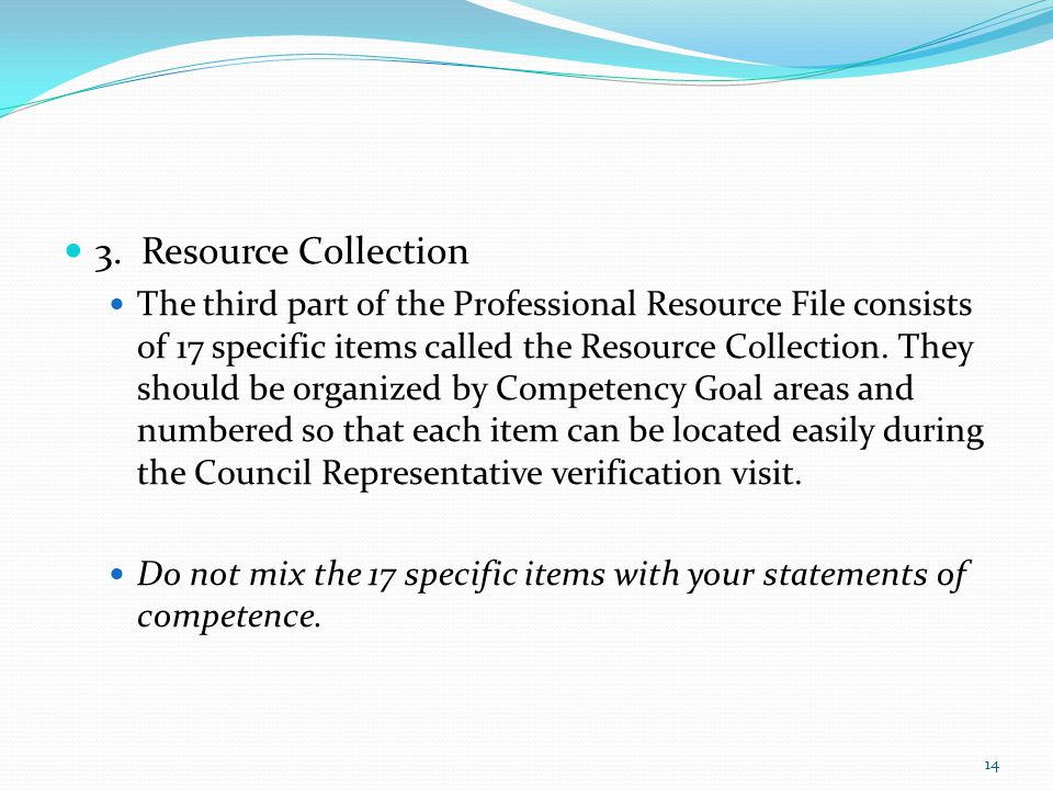 3. Resource Collection