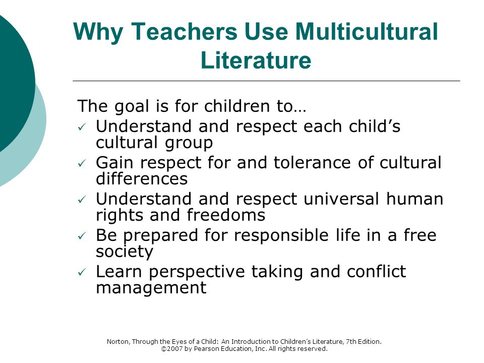 Why Teachers Use Multicultural Literature