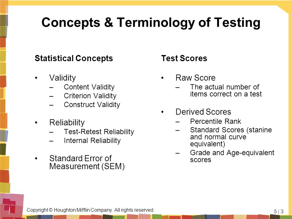 Concepts & Terminology of Testing