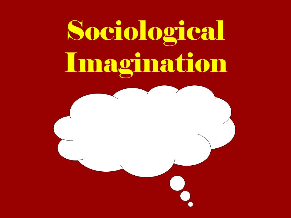 Excersising Your Sociological Imagination