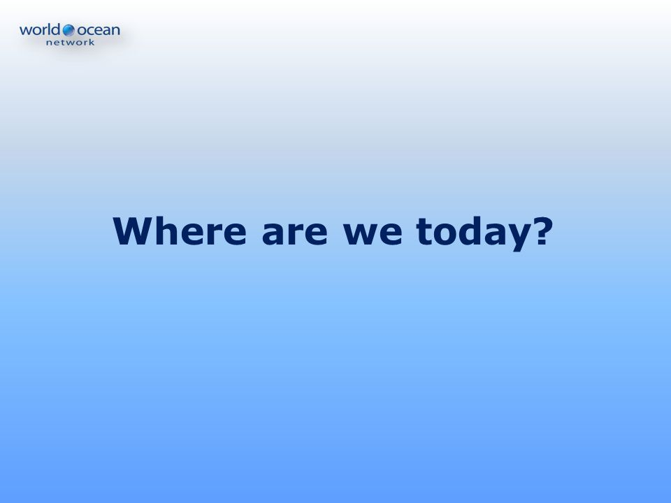 Where are we today 2000 2010: Décennie des constats,