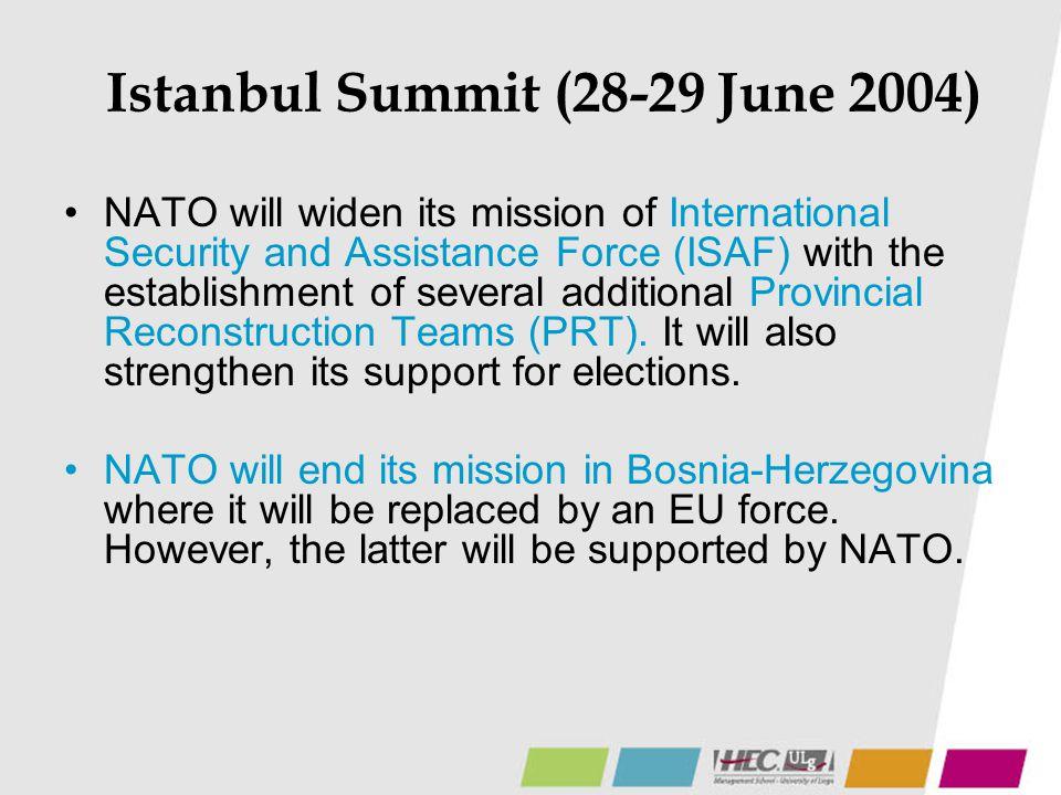 Istanbul Summit (28-29 June 2004)