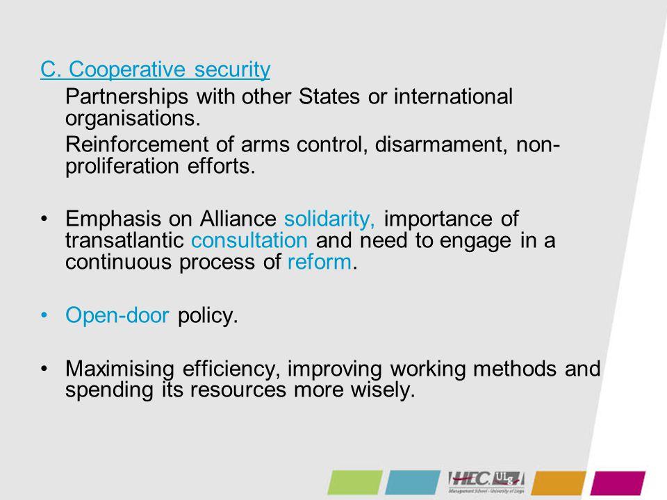 C. Cooperative security