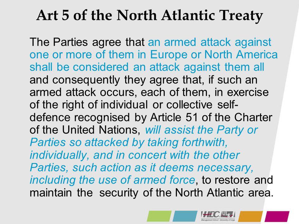 Art 5 of the North Atlantic Treaty