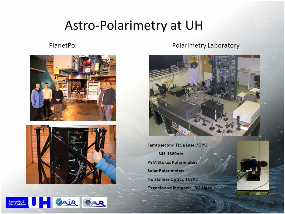 Astro-Polarimetry at UH