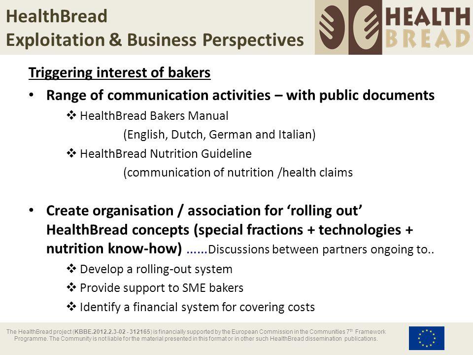 HealthBread Contributors & contact details