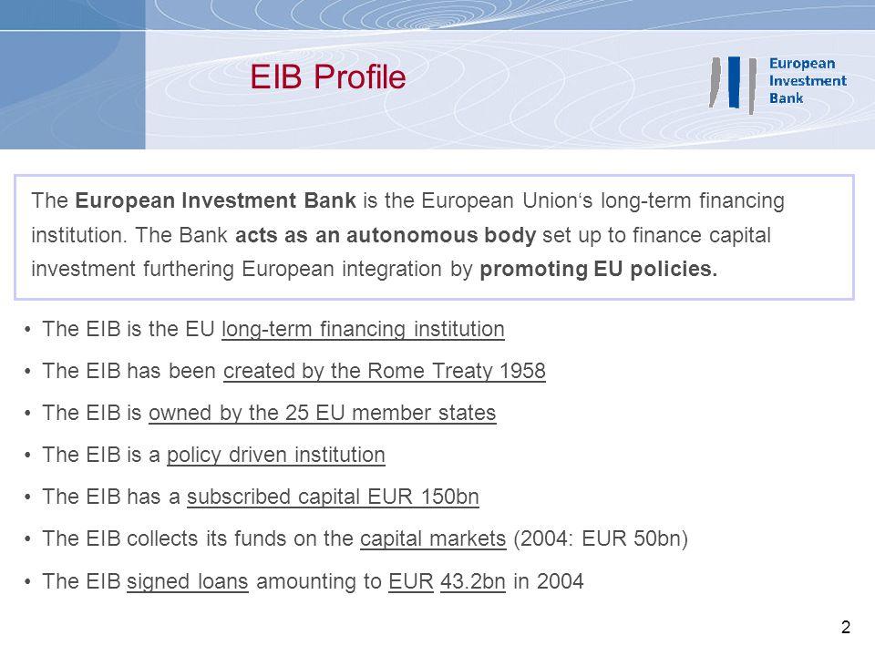 EIB Profile