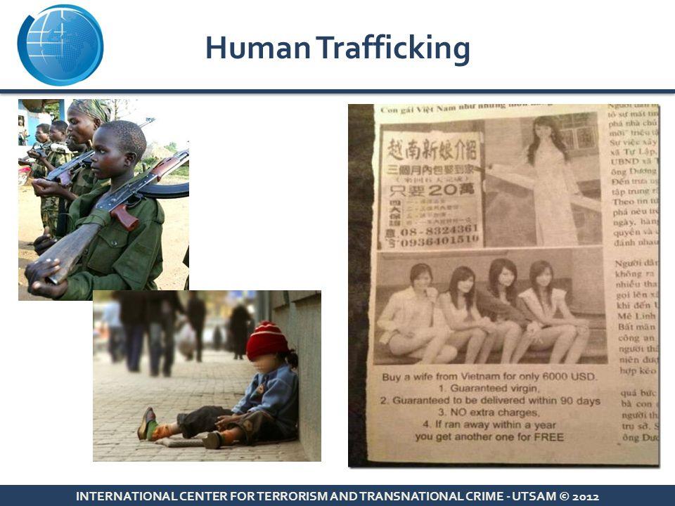 Human Trafficking INTERNATIONAL CENTER FOR TERRORISM AND TRANSNATIONAL CRIME - UTSAM © 2012