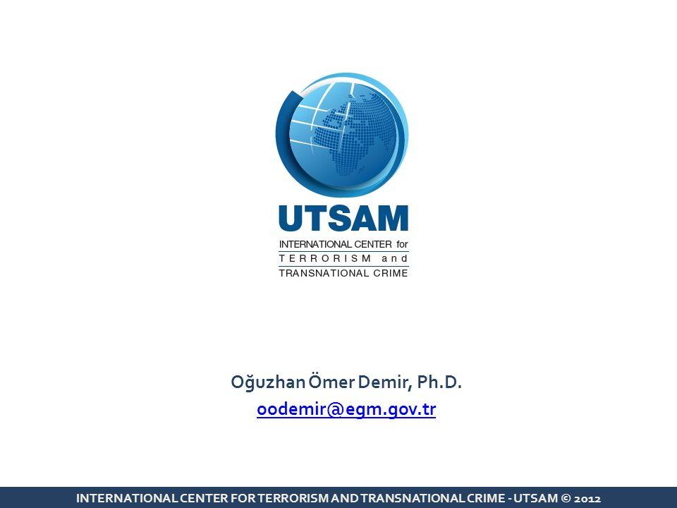 Oğuzhan Ömer Demir, Ph.D. oodemir@egm.gov.tr