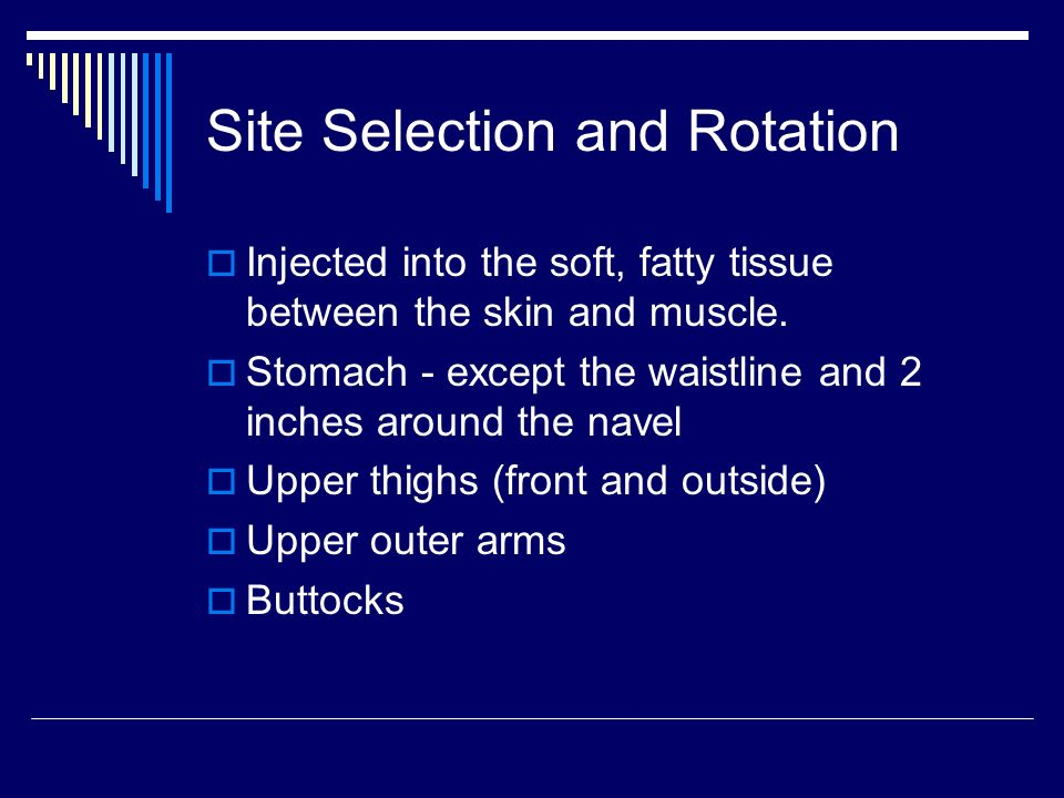 Site Selection and Rotation