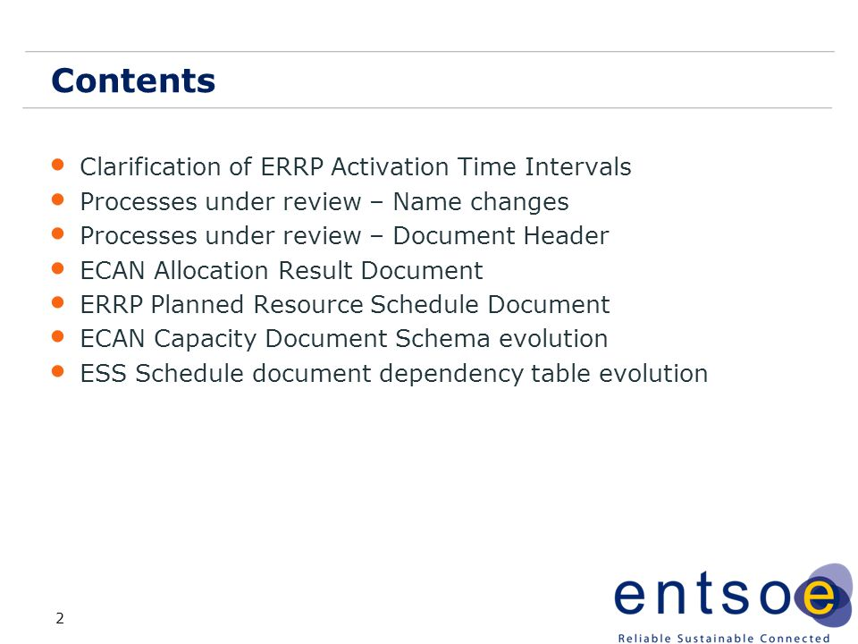 Contents Clarification of ERRP Activation Time Intervals