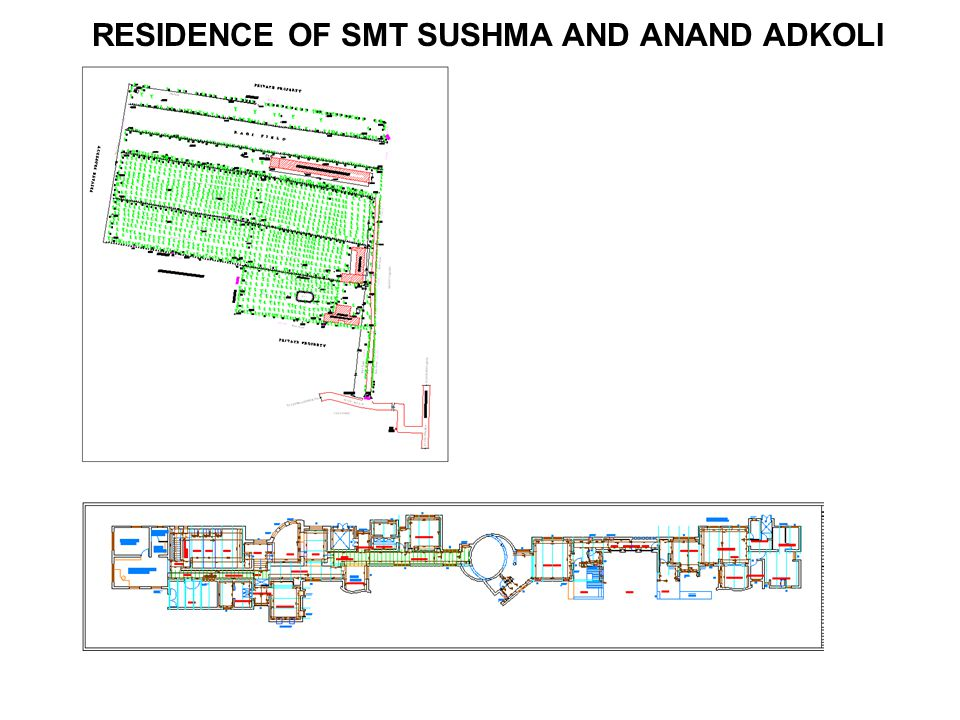 RESIDENCE OF SMT SUSHMA AND ANAND ADKOLI