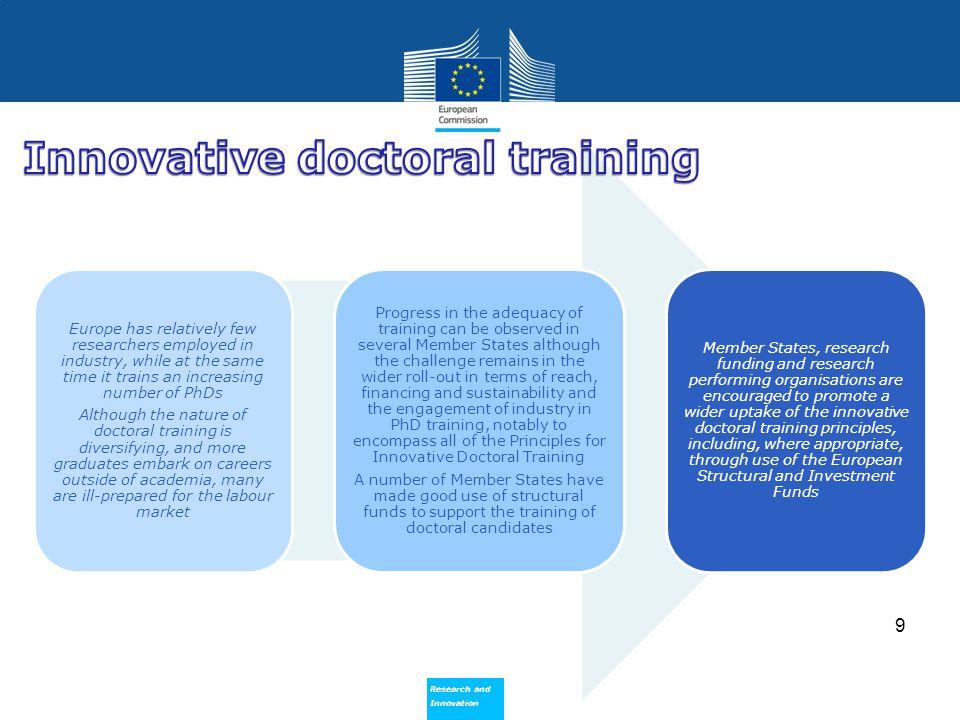 Innovative doctoral training