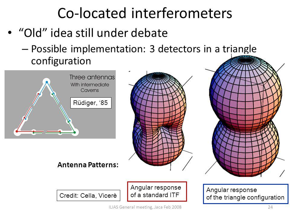 Co-located interferometers
