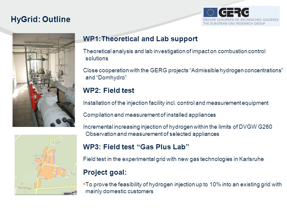 HyGrid: Outline WP1:Theoretical and Lab support WP2: Field test