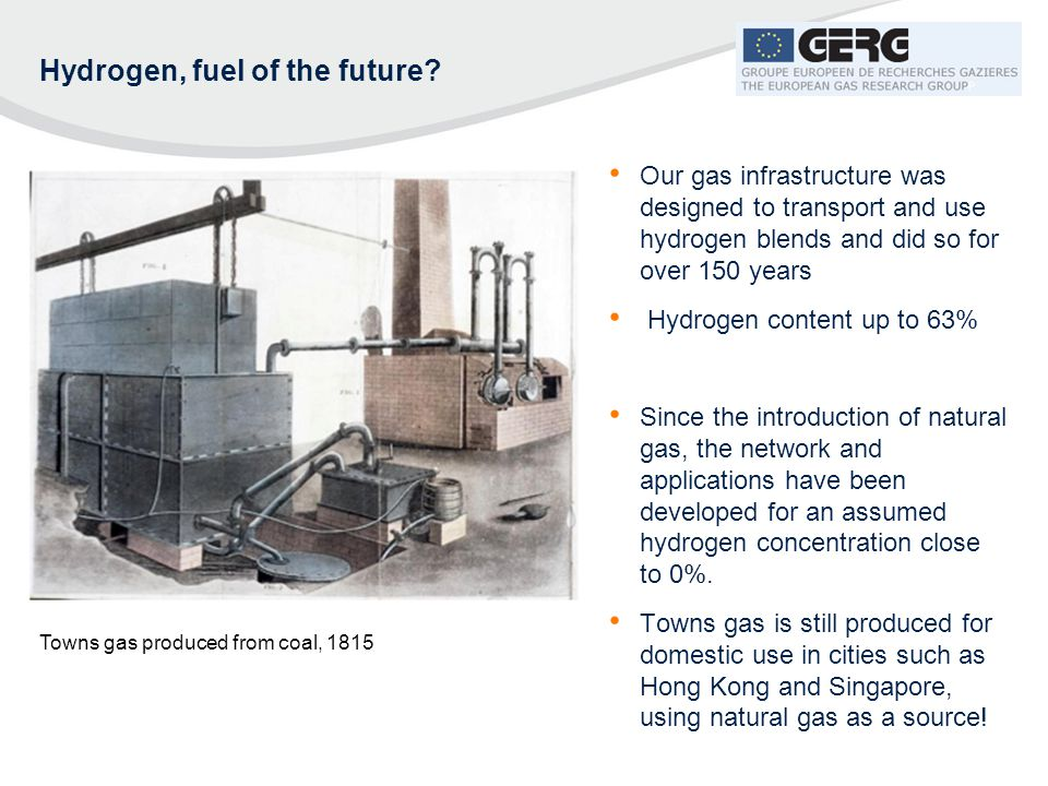 Hydrogen, fuel of the future