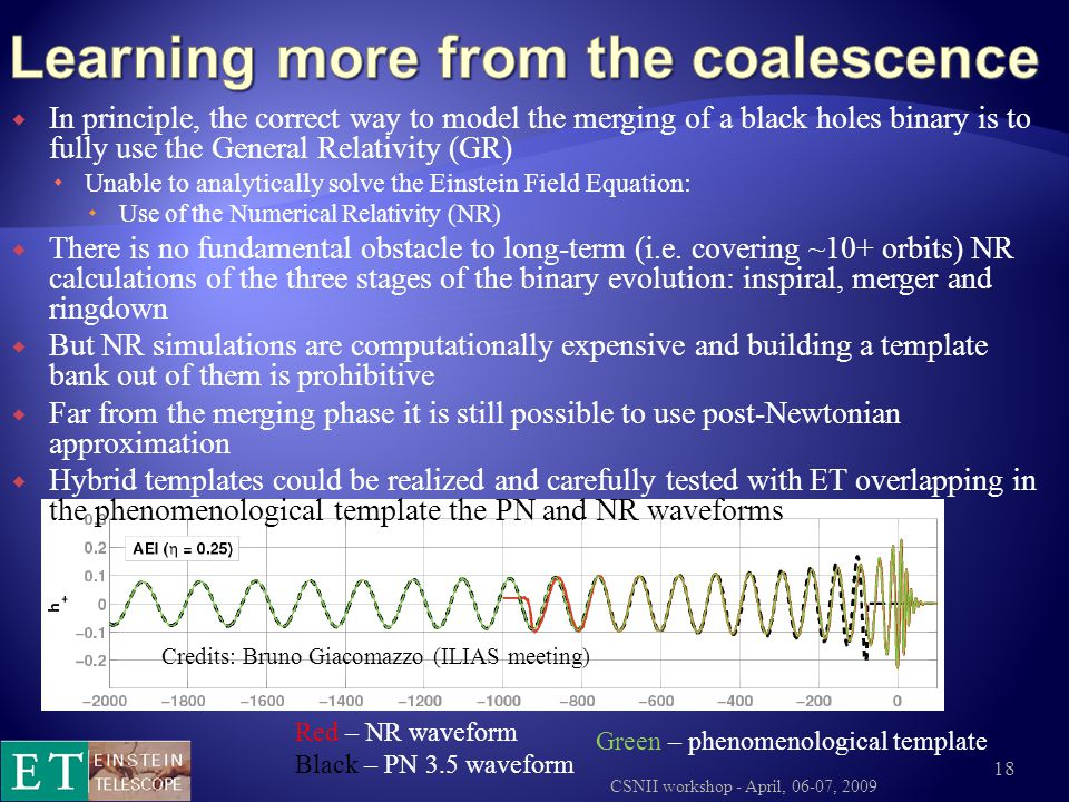 Learning more from the coalescence