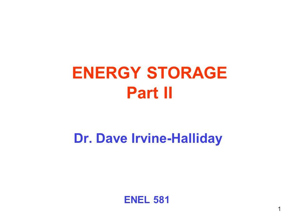 Dr. Dave Irvine-Halliday