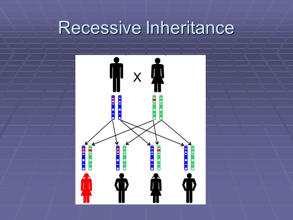 Recessive Inheritance