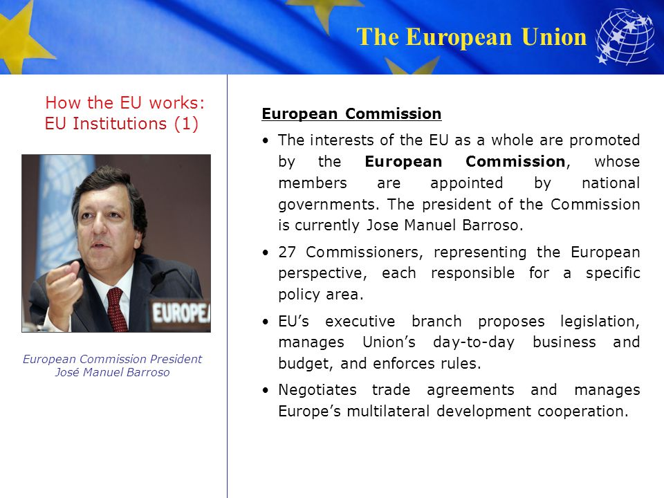 How the EU works: EU Institutions (1)