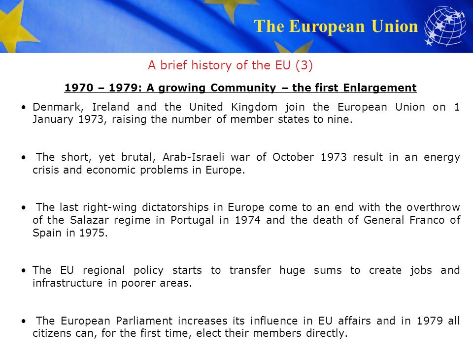 A brief history of the EU (3)