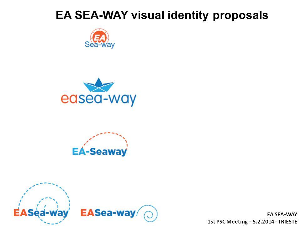 EA SEA-WAY visual identity proposals