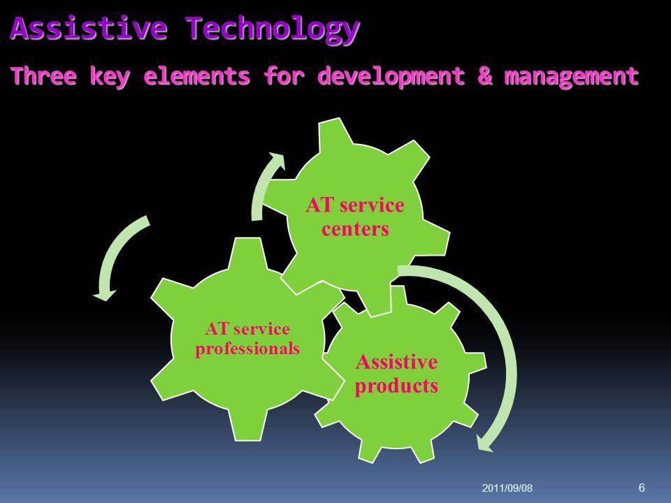 Assistive Technology Three key elements for development & management