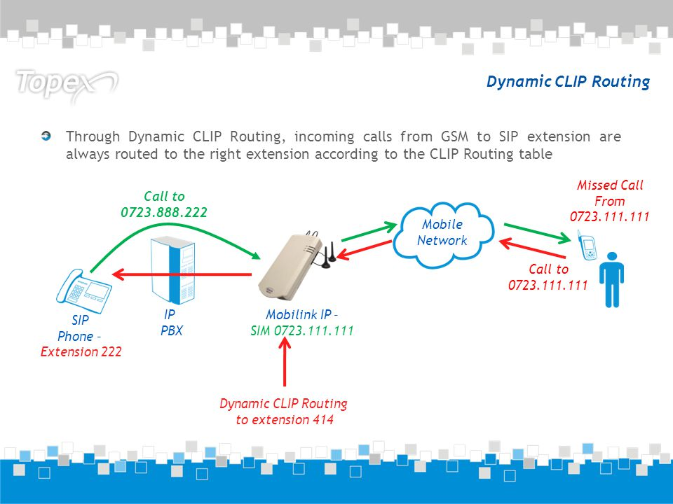 Dynamic CLIP Routing