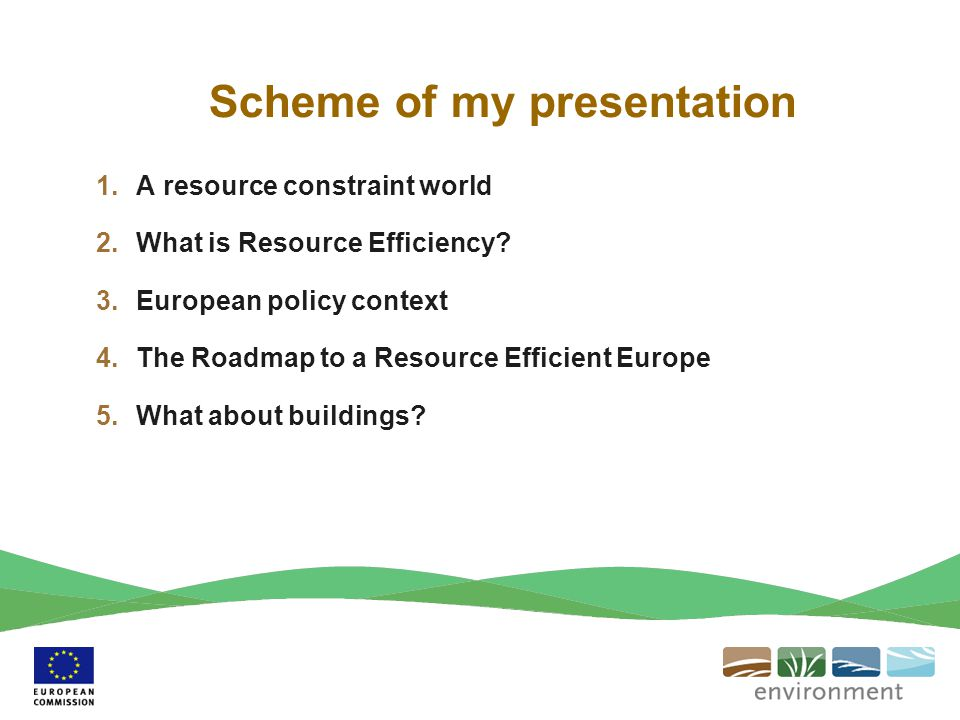 Scheme of my presentation