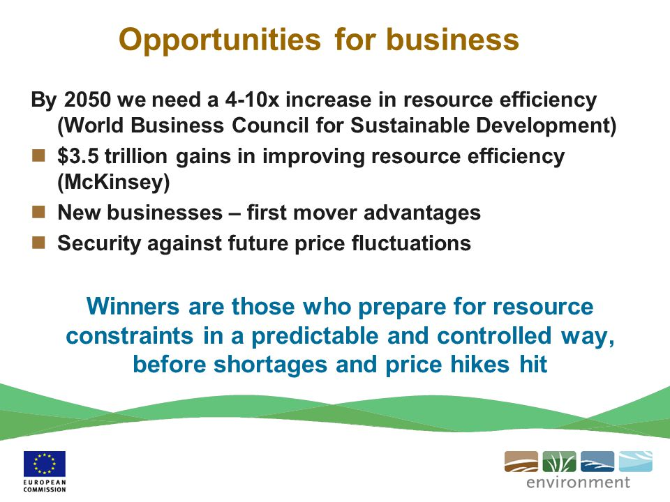 Opportunities for business