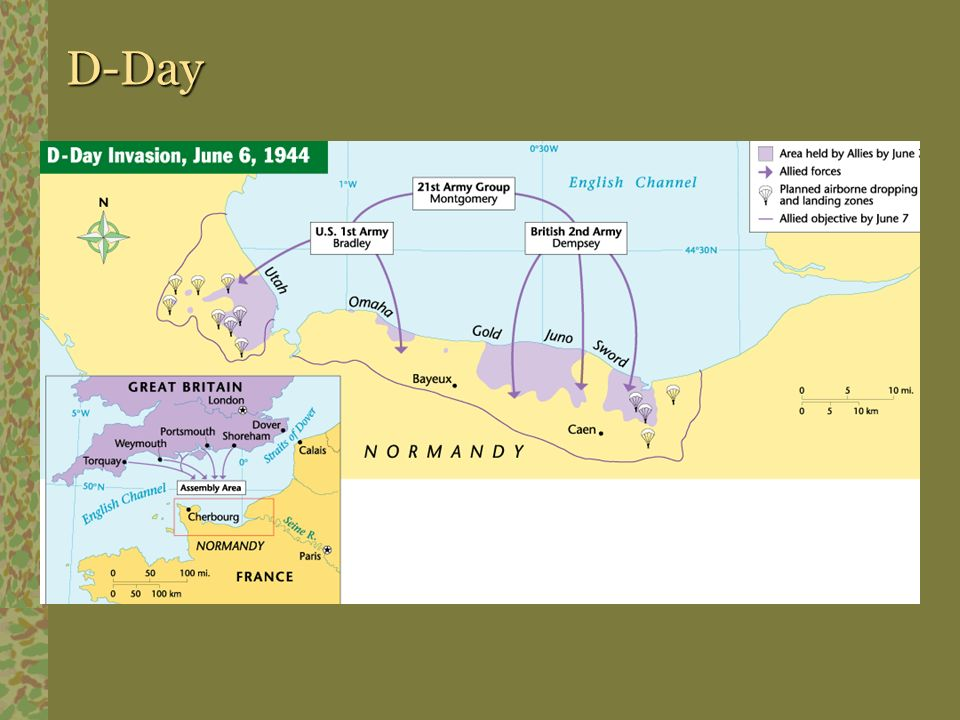D-Day Pathways