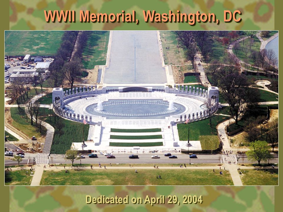 WWII Memorial, Washington, DC