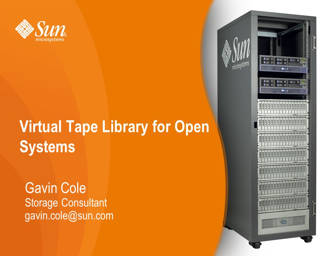 Virtual Tape Library for Open Systems