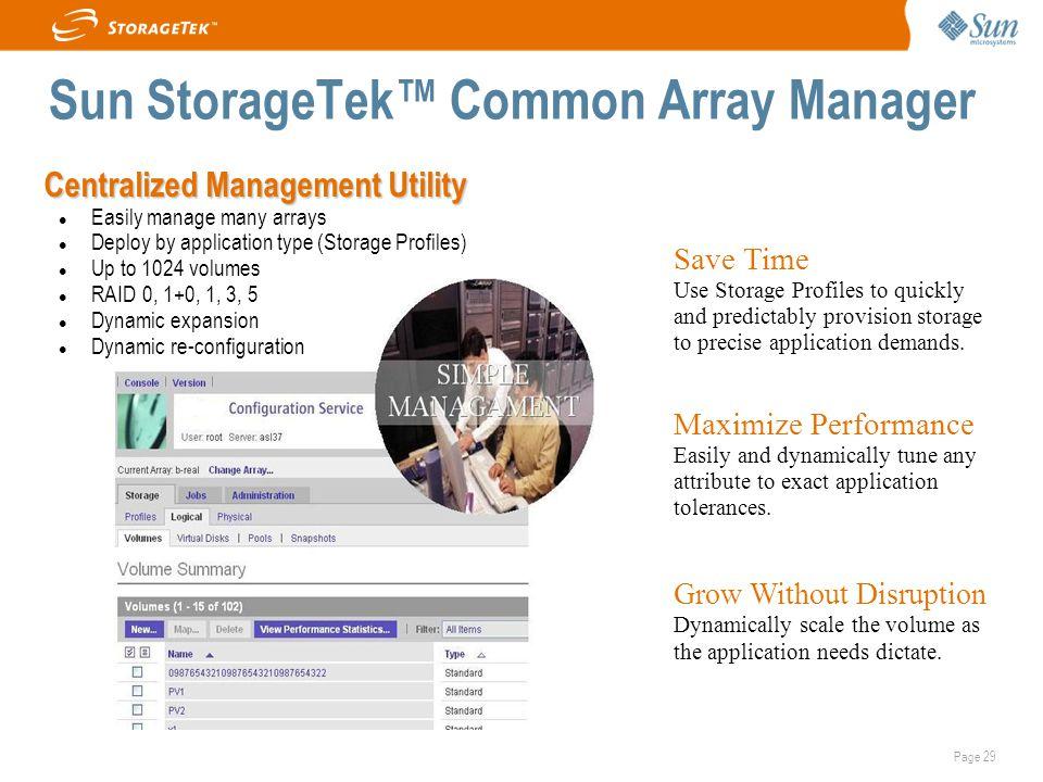 Sun StorageTek™ Common Array Manager