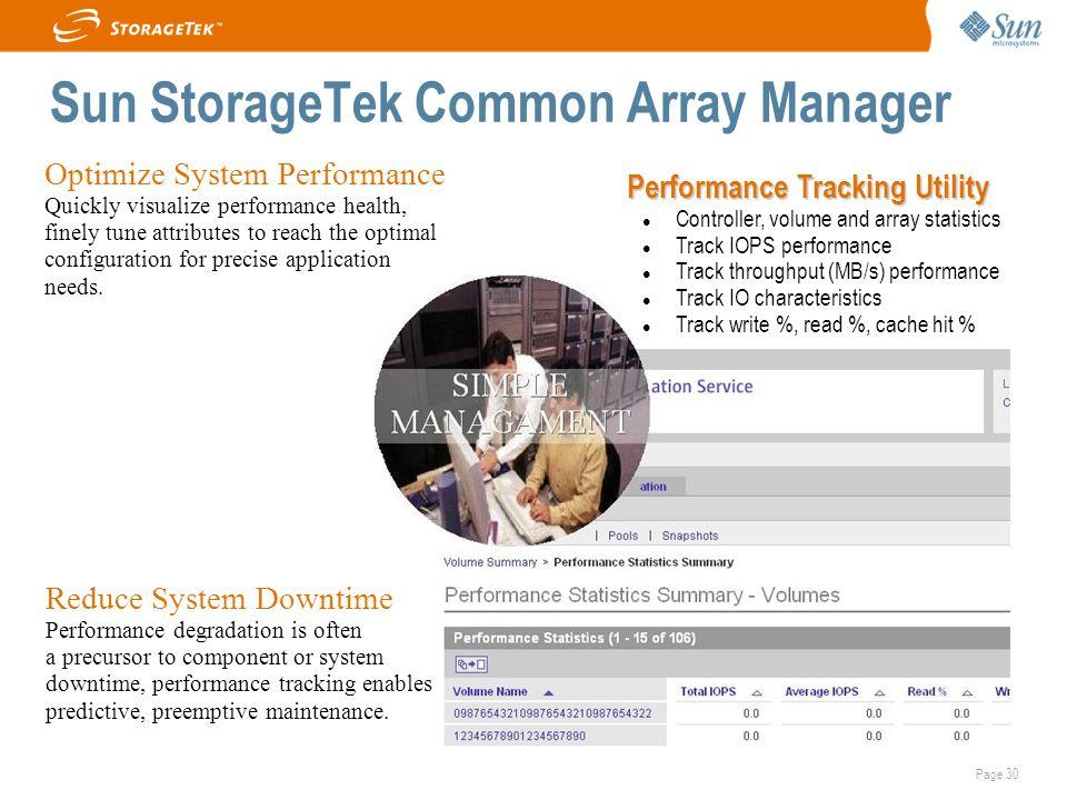 Sun StorageTek Common Array Manager