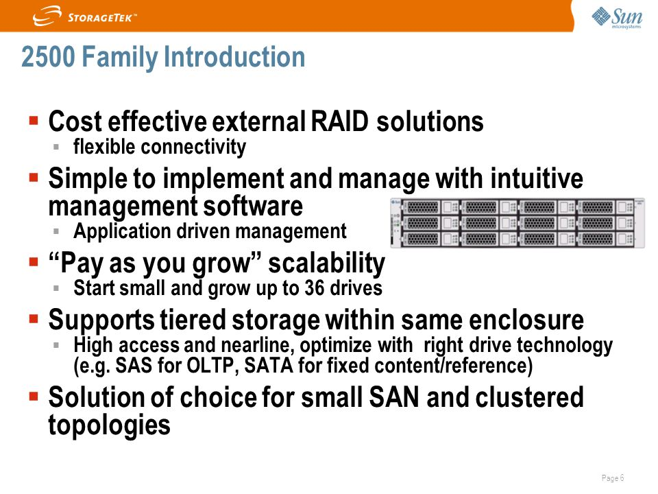Cost effective external RAID solutions