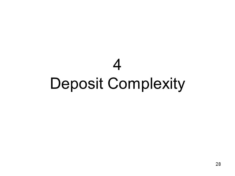 4 Deposit Complexity