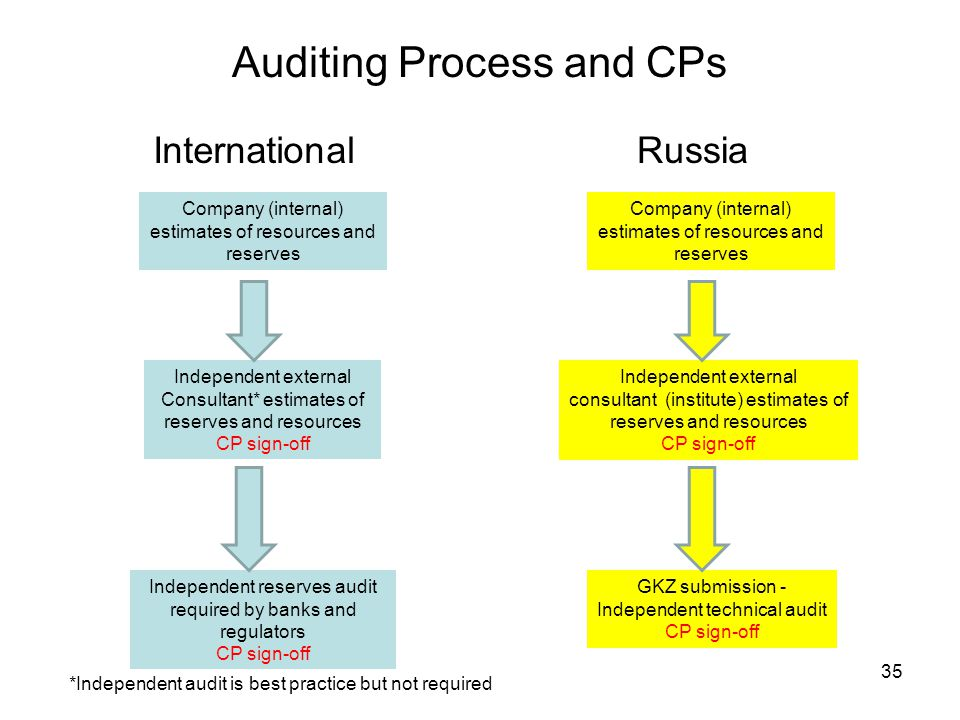 Auditing Process and CPs