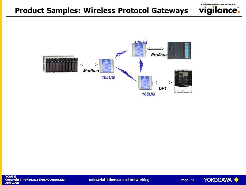 Product Samples: Wireless Protocol Gateways