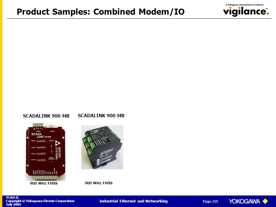 Product Samples: Combined Modem/IO