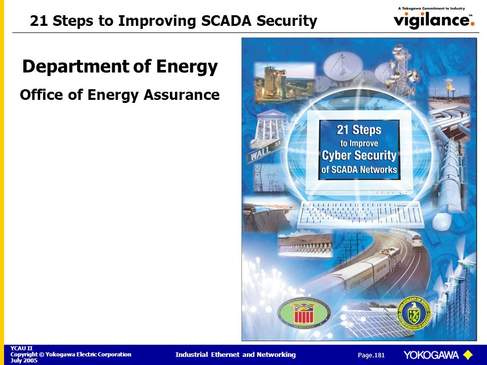 21 Steps to Improving SCADA Security