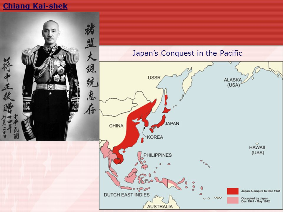 Japan's Conquest in the Pacific