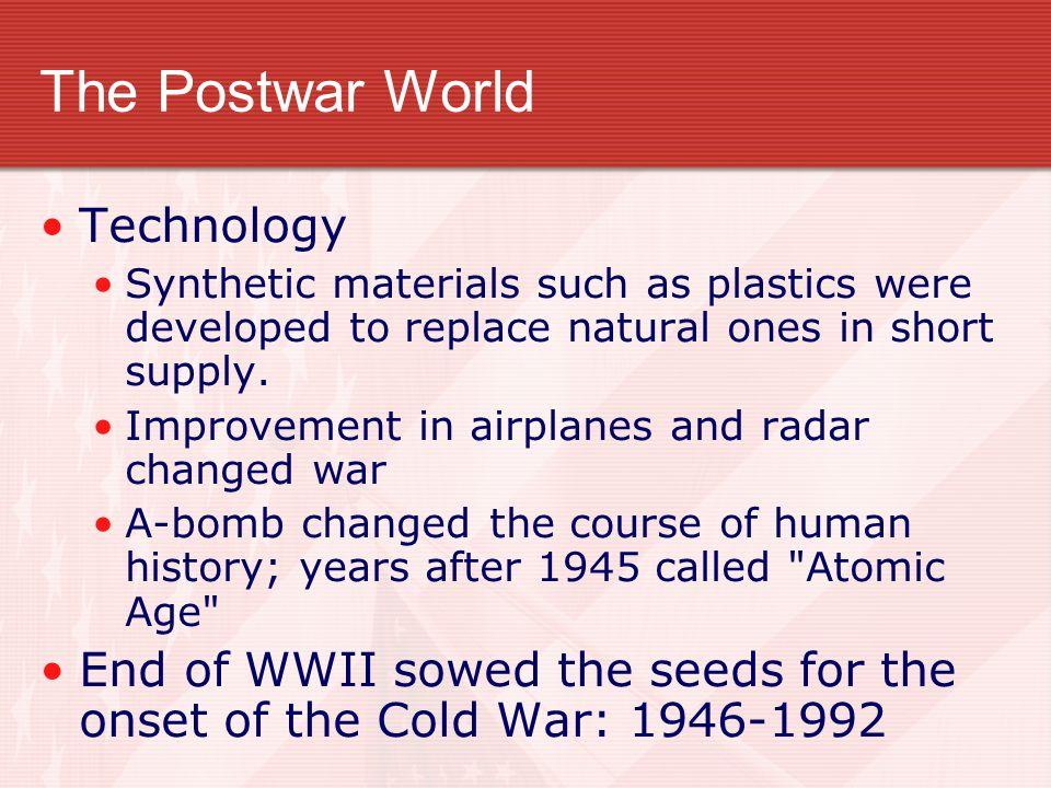 The Postwar World Technology