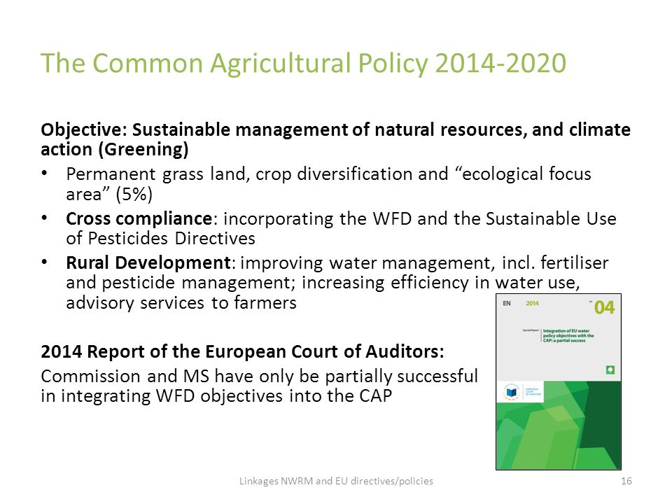 The Common Agricultural Policy 2014-2020