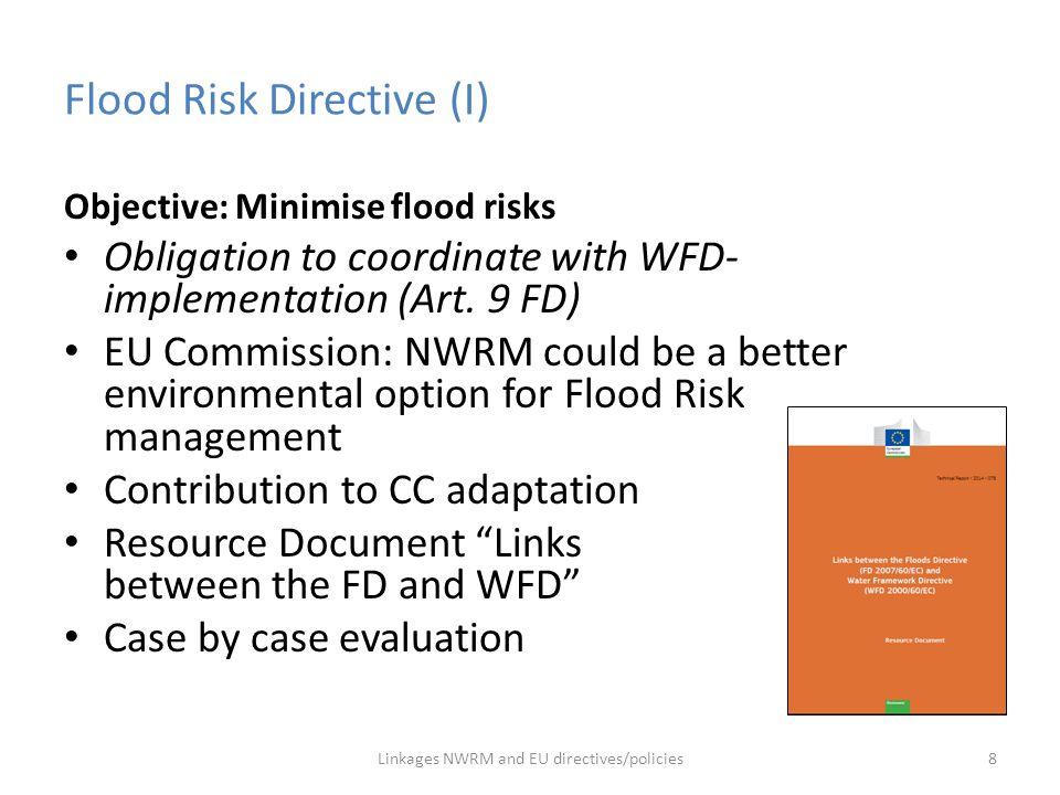 Flood Risk Directive (I)